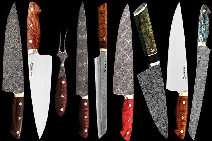 Bob kramer knives father 39 s day pinterest bobs for Kramer knives