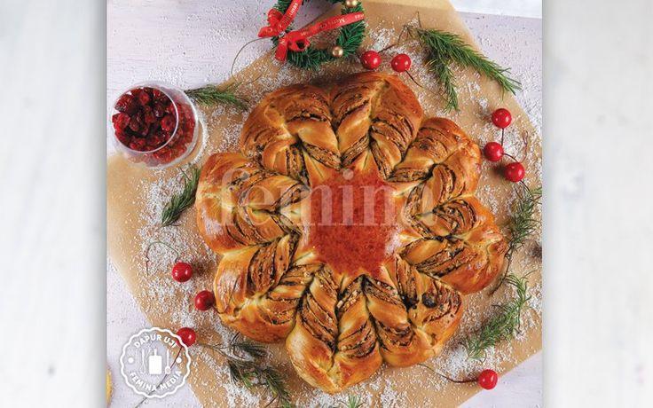 Resep Christmas Star Bread