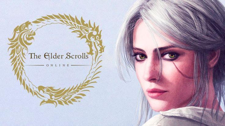 """Как Evoice """"Цири"""" из Ведьмак 3 от слепого хахаля в The Elder Scrolls Onl..."""