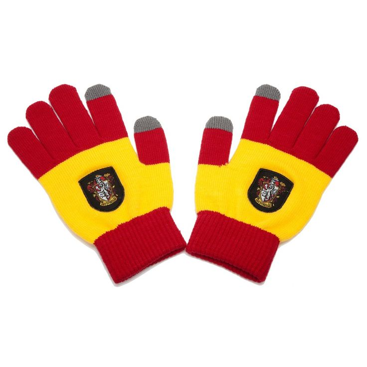 Gants Gryffondor E-Touch Rouge et Jaune Harry Potter