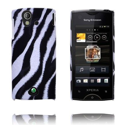 Safari Fashion (Diagonal Sebra) Sony Ericsson Xperia Ray Deksel