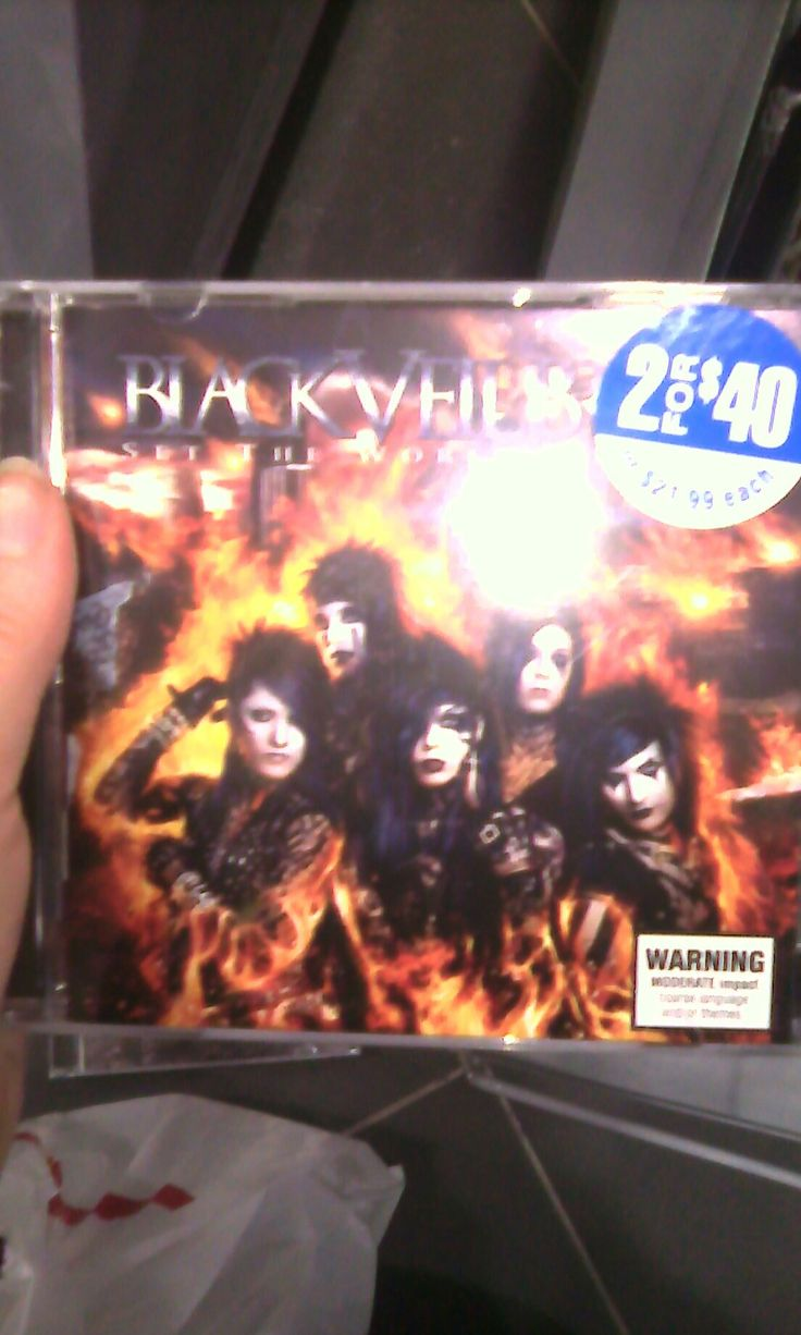 I got to hold this at Sanity Music and Oh My Ferguson when the store clerk saw me holding it, she came over to speak to me, and apparently she is a MASSIVE Black Veil Brides fan. We talked for ages and she's holding copies of their albums for me to buy when I have the money. I love people ♥