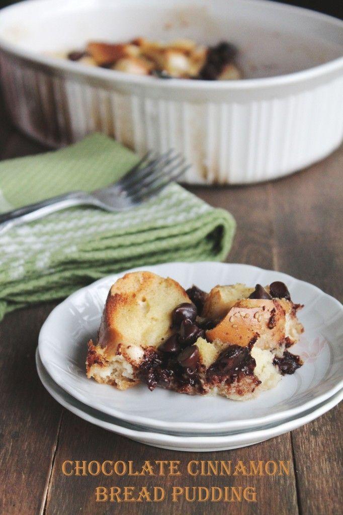 Chocolate Cinnamon Bread Pudding | Recipe
