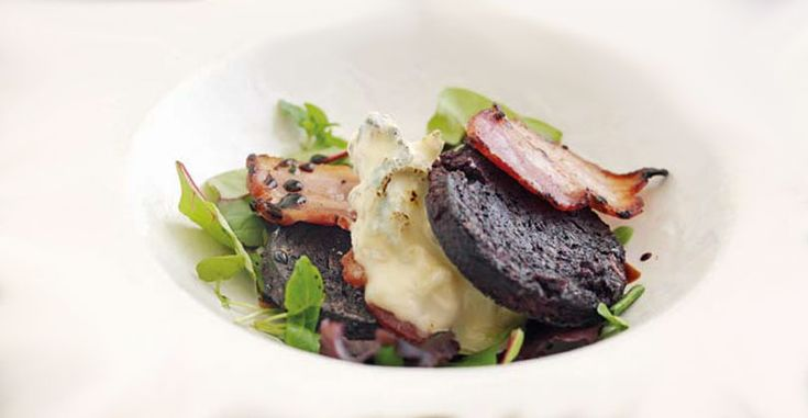 Gorgonzola and Stornoway Black Pudding #Recipes #SecondCourse #Gorgonzola - en.gorgonzola.com