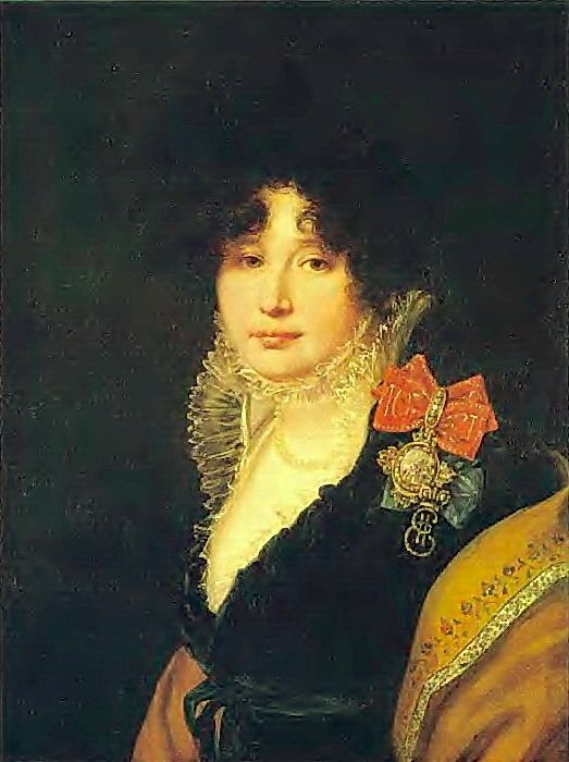 Орест Адамович Кипренский (1782-1836) - Портрет княгини А.В. Щербатовой, 1808, Холст, масло