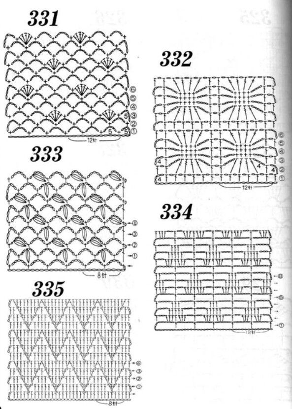 1000  images about crochet stitches on pinterest