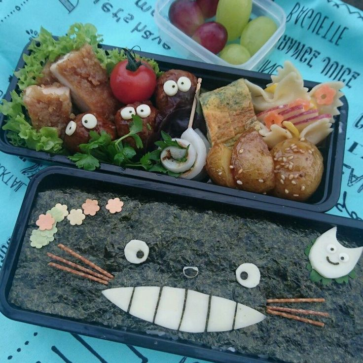 minさんのアレっぽい海苔弁 #snapdish #foodstagram #instafood #food #homemade #cooking #japanesefood #japanesebento #bento #lunch #料理 #手料理 #ごはん #テーブルコーディネート #器 #お洒落 #ていねいな暮らし #暮らし #ランチ #お弁当 #おべんとう #手作り弁当 #のり弁 #トトロ https://snapdish.co/d/zvGeSa