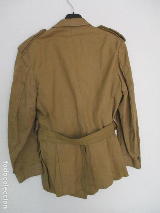 Militaria: Antiguo Traje - Guerrera + Pantalón Militar - Teniente - Regulares nº 2 - Melilla, Sahara Español - Foto 9 - 89035208