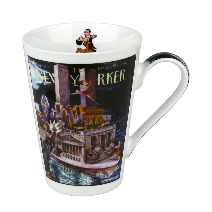 There are a bunch of New Yorker mugs that are fun