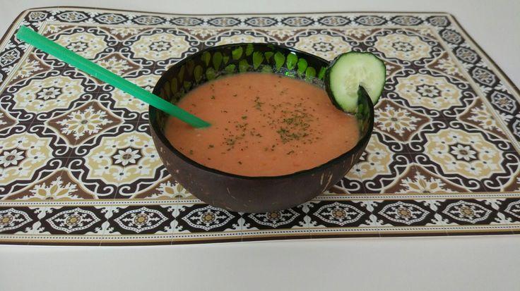 Gazpacho andaluz a mi gusto