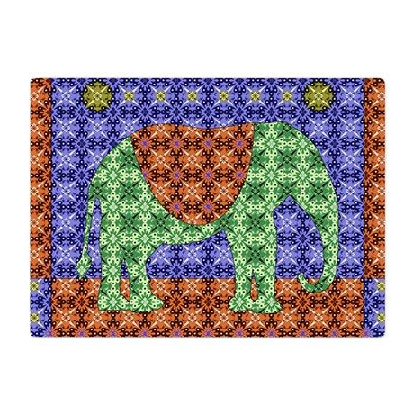 Colorful Elephant Cutting Board