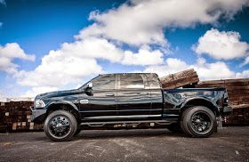 Cars Tuning Music: Dodge Ram Longhorn 3500 Dually By American Force Wheels