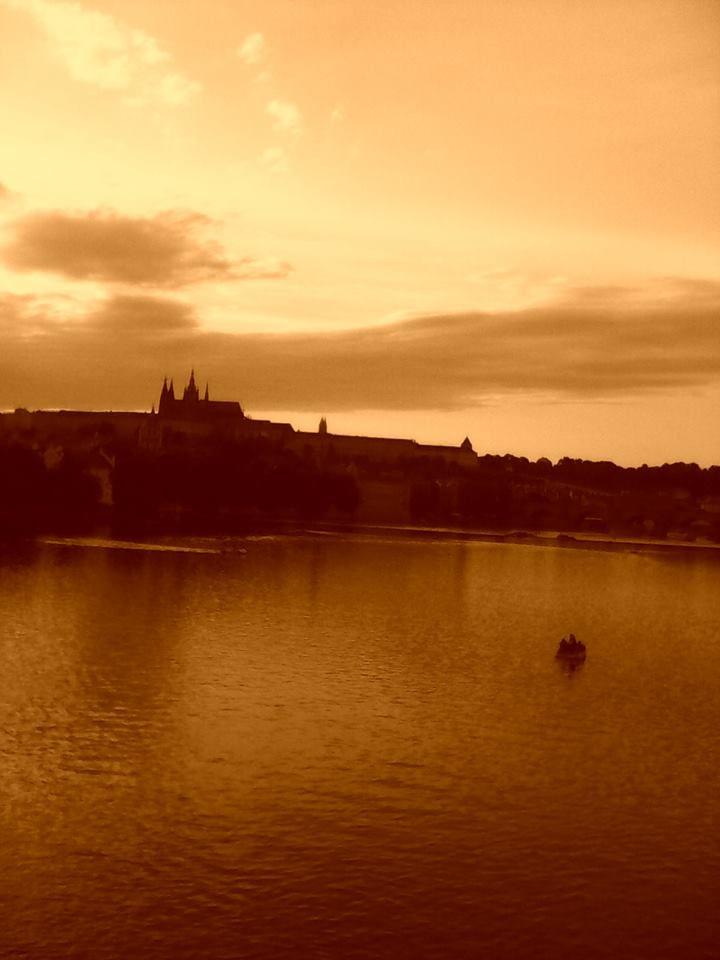 Praha - pohled na Pražský hrad
