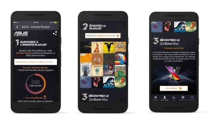 ASUS et Deezer s'associent autour d'un jeu concours. A gagner, des abonnements d'un an Deezer Premium + et des smartphones ZenFone Max