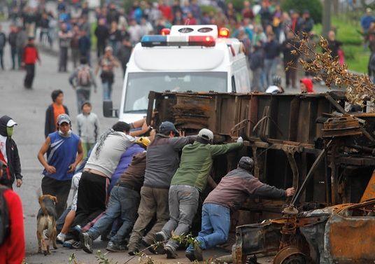 Fiscalía formaliza a 16 personas en Coyhaique por delitos durante manifestaciónes