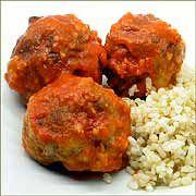 Recetas de cocina faciles y ligeras: ALBÓNDIGAS VEGETARIANAS