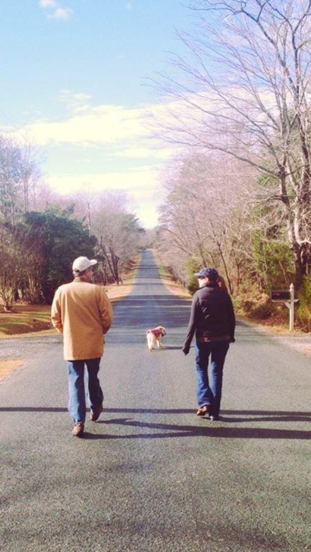 Long walk down a country road... Smith Mountain Lake Va -photo-AnnaFowler