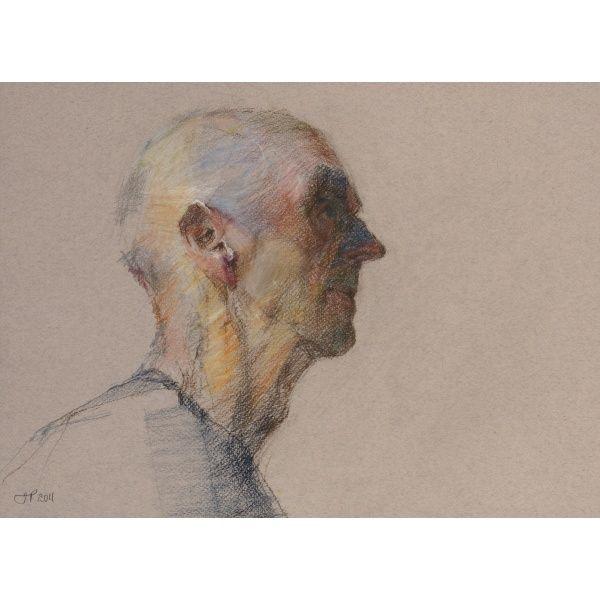 AJ by Jill Preston | Derwent Art Prize / repinned on Toby Designs