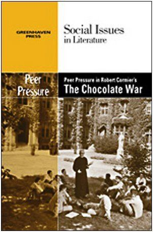 the role of peer pressure in the chocolate war by robert cormier Robert cormier  note:the chocolate war includes language that some readers  may find  and cliques or in-groups violence and drugs school spirit peer  pressure  then have them design a poster for another character in the book.