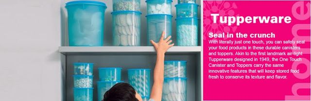 Tupperware Brand Malaysia::Tupperware: Kitchen Storage :: One Touch