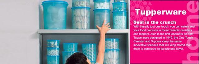 Tupperware Brand Malaysia::Tupperware: Kitchen Storage :: One Touch