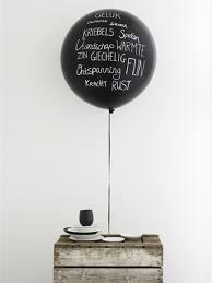 Writing on a balloon