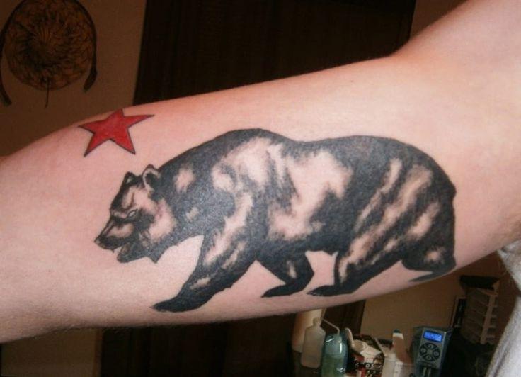 Awesome California Bear Tattoos - CreativeFan