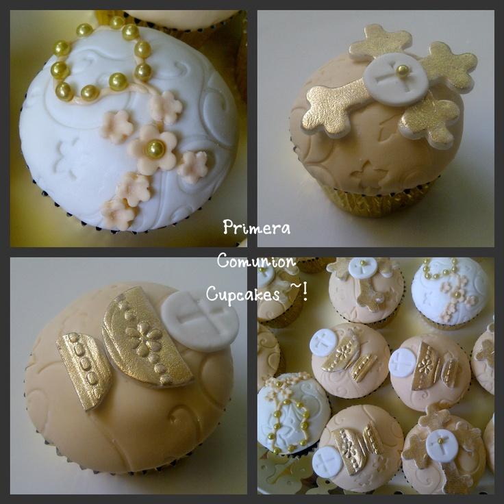 Primera Comunion Cupcakes~!