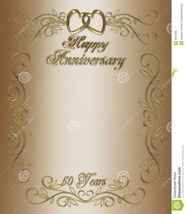 50th wedding anniversary layouts 50th anniversary invitation border wedding pinterest. Black Bedroom Furniture Sets. Home Design Ideas