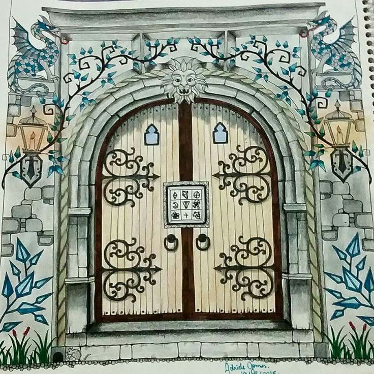 Enchanted Doors Amp Incredible Door And Surrounding