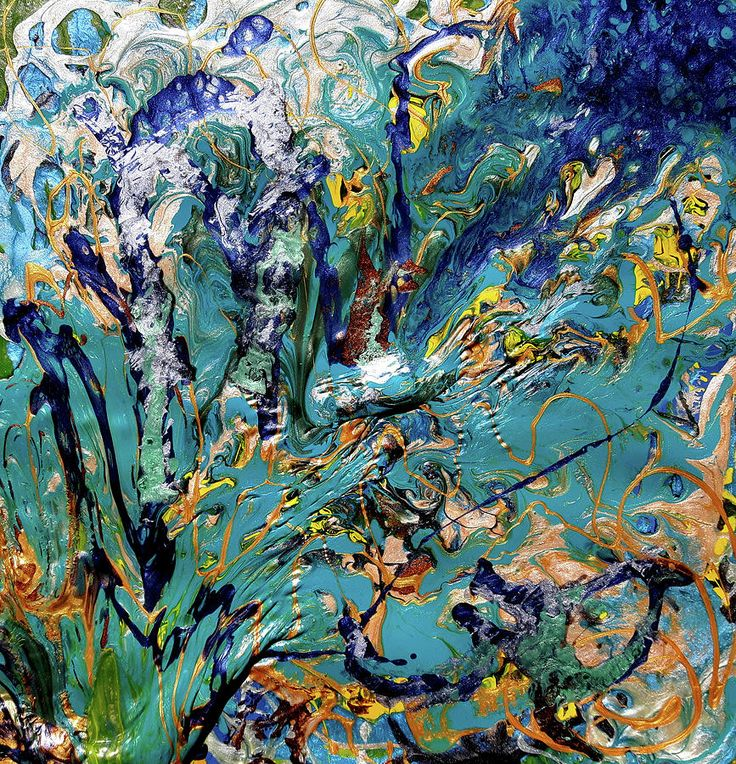 Layers 4 Painting by Florentina Maria Popescu