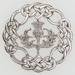 Thistle Brooch Scottish Brooches Scottish Clans Tartans Kilts Crests and Gifts