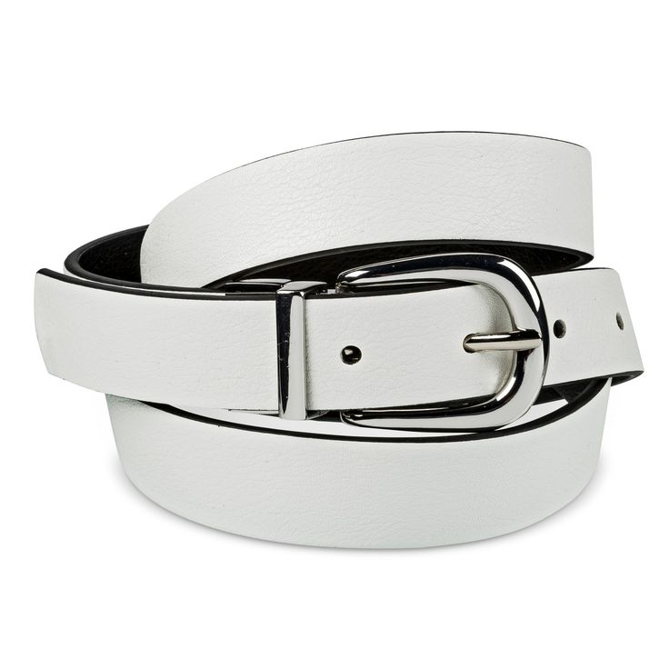 Women's Reversible Belt - A New Day Black And White M, Black White