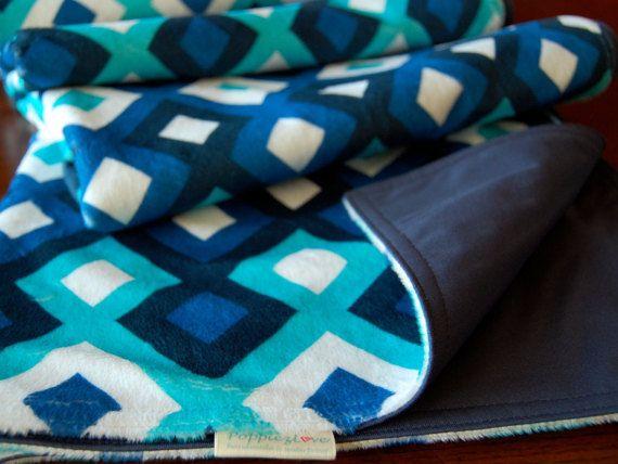 Water proof Sofa Throw Bedroom Throw Blanket Minky by Poppiezlove