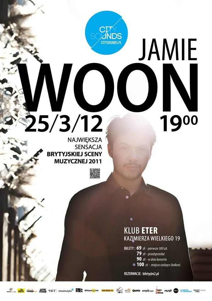 Koncert Jamie Woon w Eterze