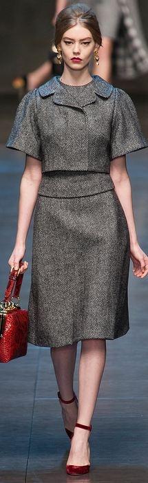 Dolce & Gabbana F/W 2013 RTW Milan FW
