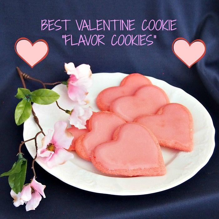 Valentine Cookies 040pP Best Valentine Cookies!   Flavor Cookie