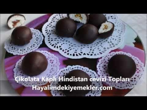 Çikolata Kaplı Hindistan Cevizi Topları | Resimli Yemek Tarifleri Hayalimdeki Yemekler