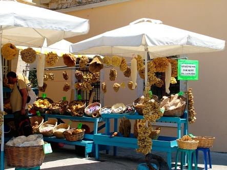 Symi: sponge stall