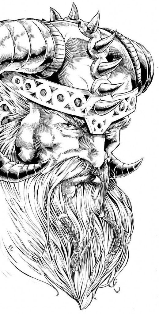 Viking Tattoo Bedeutung: Entdecke die Geheimnisse der nordischen Mythologie – Alle Tätowierungen