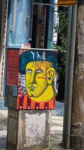 TRECO • Brazilian graffiti São Paulo  • SP 1599, Artur de Azevedo Street  ( Pinheiros)