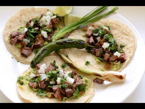 Carne Asada Tacos Recipe / English Subtitles - http://2lazy4cook.com/carne-asada-tacos-recipe-english-subtitles/