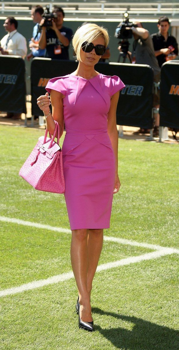 There were whole ensembles inspired by Elle Woods. | 23 Early '00s Outfits You Won't Believe Victoria Beckham Ever Wore