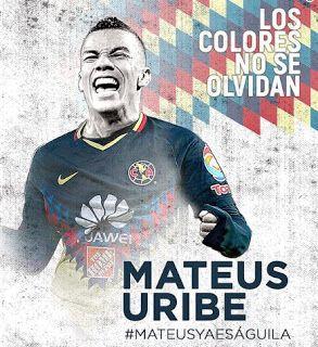 Blog de palma2mex : Mateus Uribe Confirmado llega al Club América