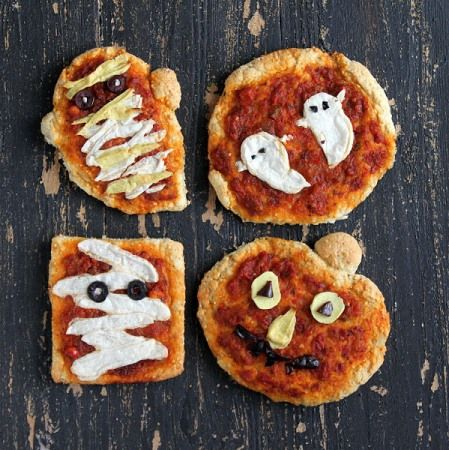 Halloween Pizza by Vegan Richa