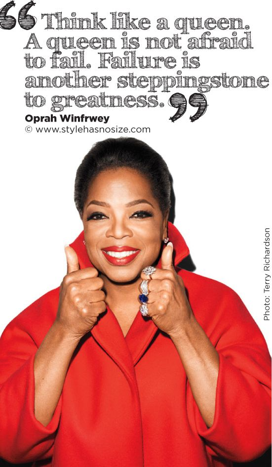 Oprah Winfrey by Terry Richardson