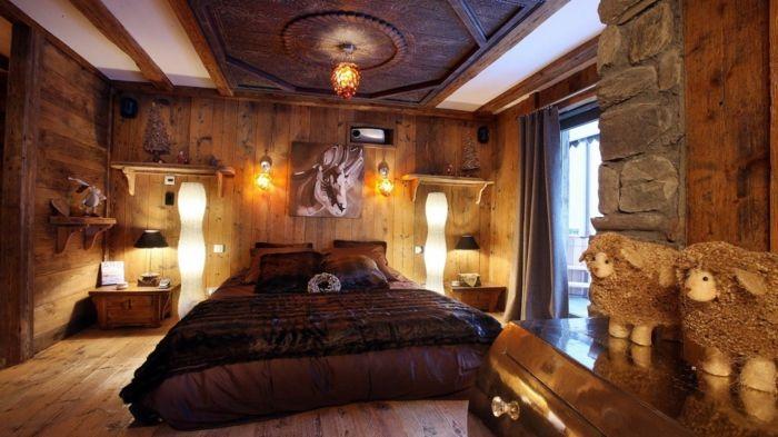 rustikale möbel schlafzimmer einrichten coole deko | möbel, Innedesign