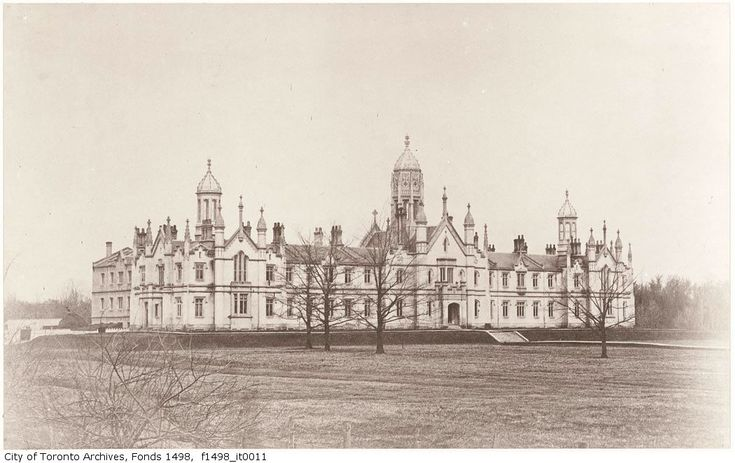 Trinity College, Toronto, Ontario, 1852.