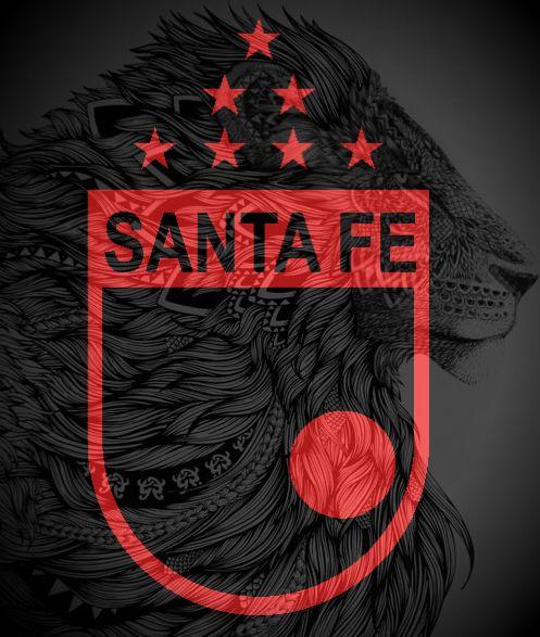 Logo realizado por mi en honor a Independiente Santa Fe #CISF #LGARS #Bogotá