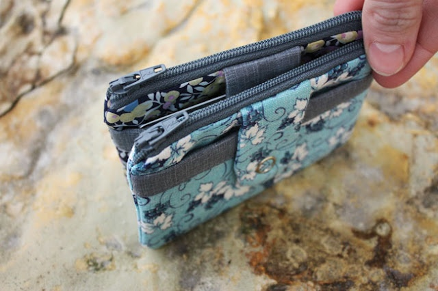 zip wallet tutorial - I like the outside pocket